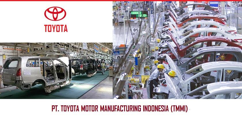 Lowongan Operator Produksi PT.Toyota Motor Manufacturing Indonesia (TMMI)