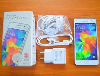 ANGGUN : Inilah fisik Samsung Galaxy Grand Prime yang menawan, indah dan menakjubkan.   Gambar dari OLX