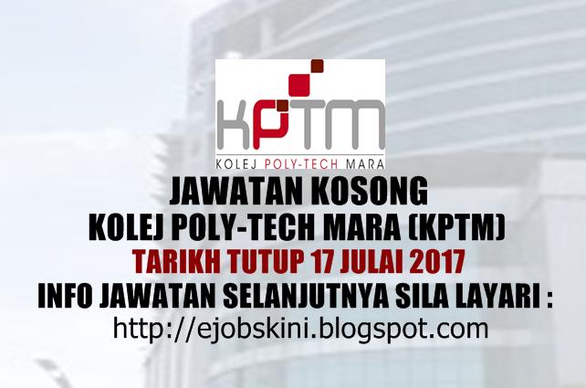 Jawatan Kosong KPTM