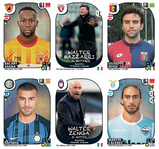 """Figurine Panini Extra: calciomercato invernale collezione """"Calciatori 2017-2018"""""""