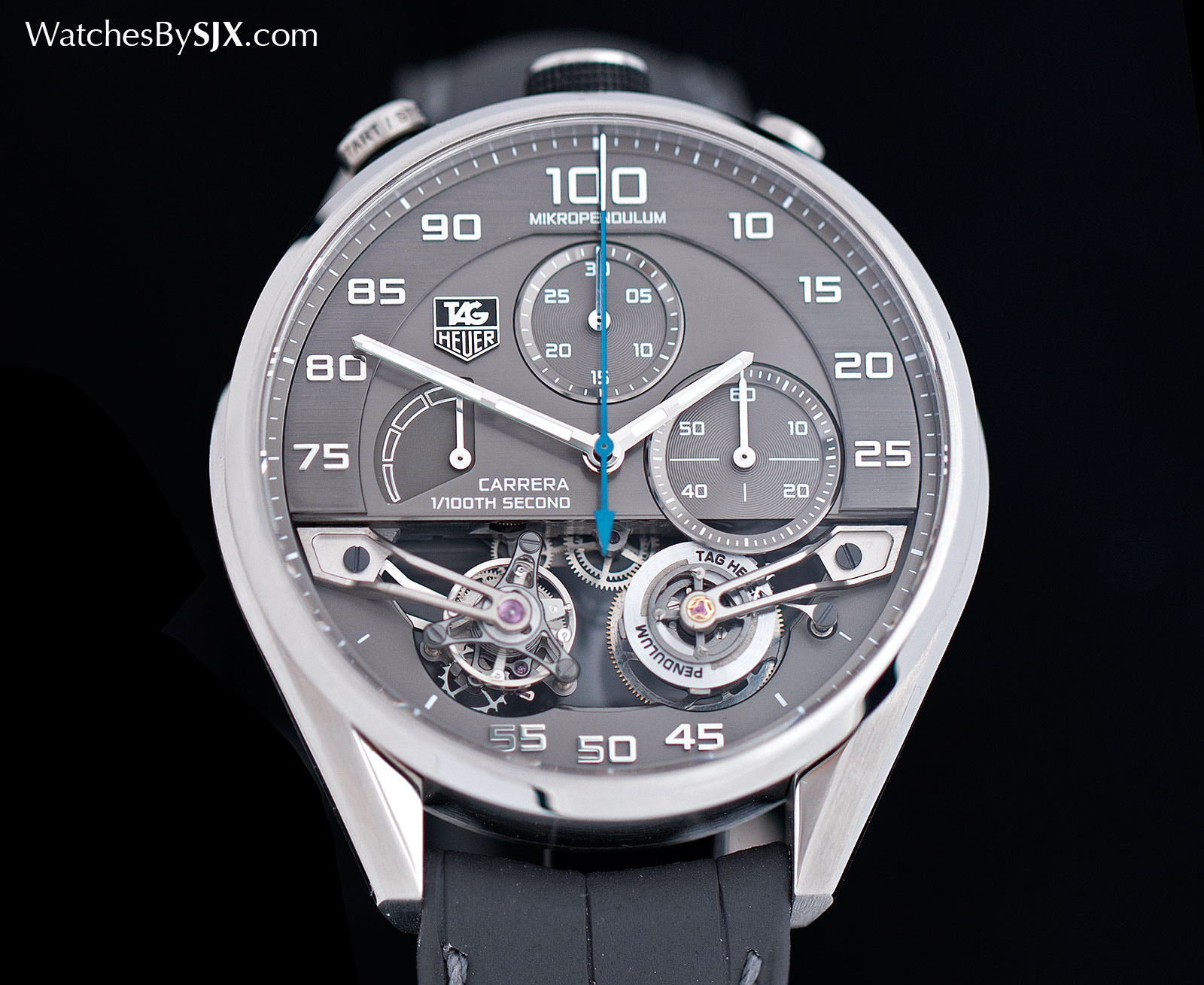 Tag: Watches By SJX: Up Close With The $400,000 TAG Heuer That