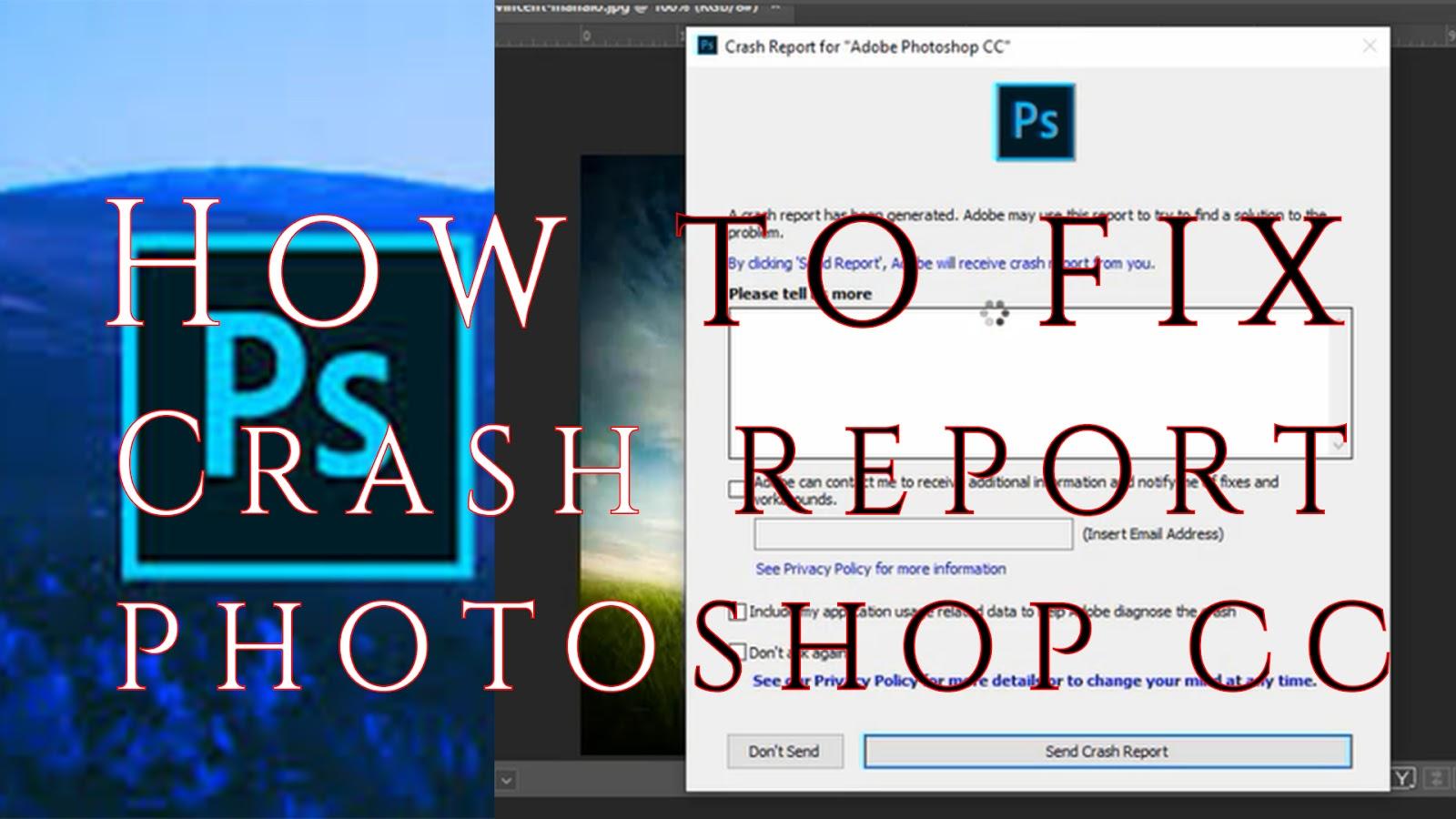 Photoshop Cc 2019 Crashing