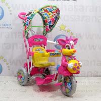pink sepeda roda tiga royal baby ball