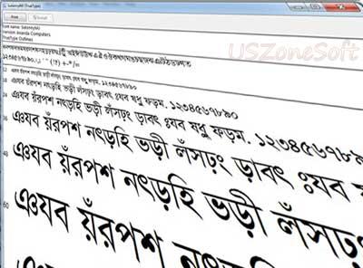 Bijoy Bangla Font Collection Zip Download- Bangla Text With