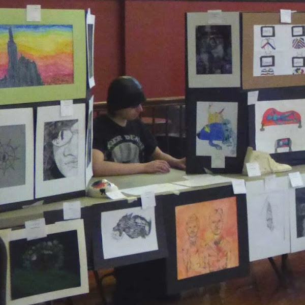 Zander Varney, Farmington Student, Wins Scholarship In Frisbie Art Competition
