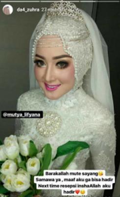 mutya livinaya menikah