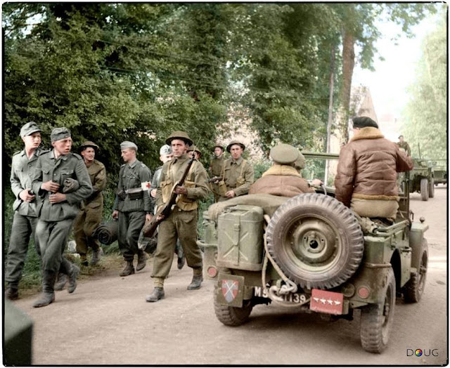 Captured German soldiers color photos of World War II worldwartwo.filminspector.com