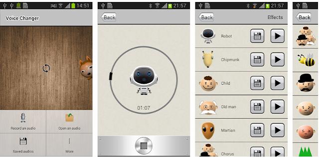 Application to change the tone of voice تطبيق لتغيير نبرة الصوت ويمكن استعماله في جميع المواقع التواصل