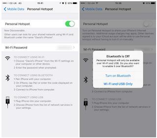 Cara mengubah iPhone menjadi hotspot Wi-Fi, Ini Caranya
