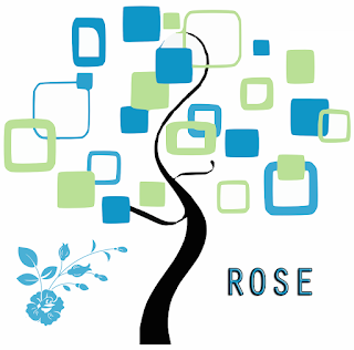 Stylised tree depicting my Rose family tree