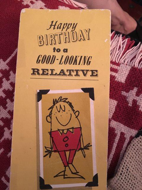 Se han enviado la misma tarjeta de cumpleaños por 47 años