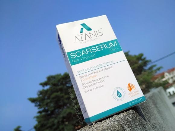 Azanis Scar Serum Vita Cocoa Booster Formula Review Testimoni
