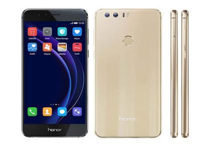 Harga Terbaru Huawei Honor 8 dam Spesifikasi Lengkap