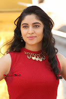 Telugu Actress Zahida Sam Latest Pos in Red Gown at RF Films New Movie Opening  0077.JPG