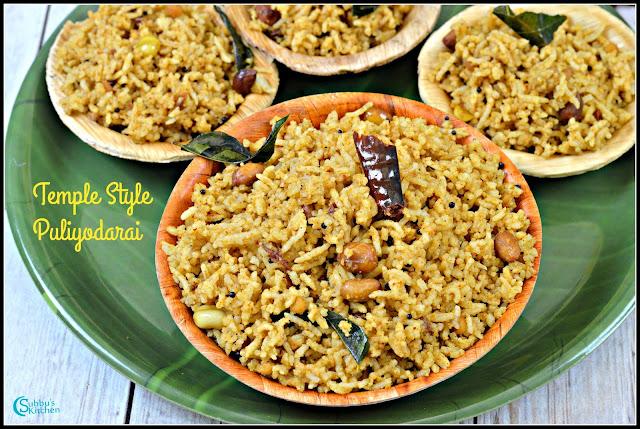 Koil Puliyodarai | Temple Style Puliyodarai Rice | Tamarind Rice