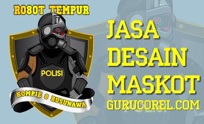 Jasa Desain Maskot Logo Karakter