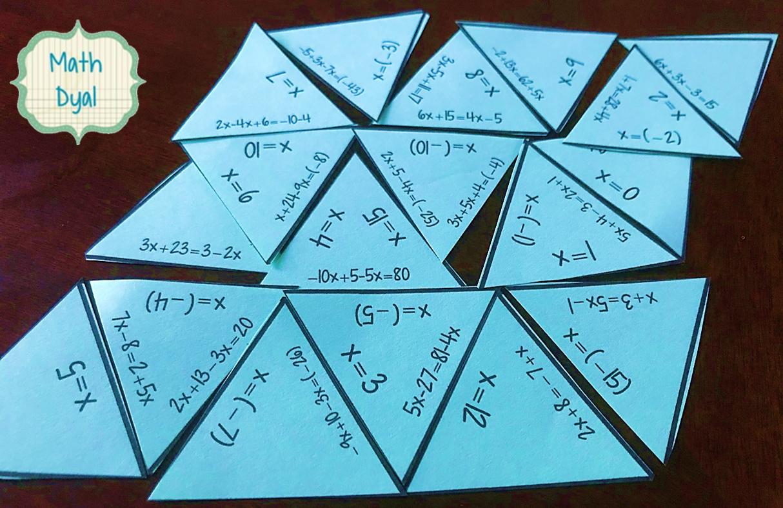 Math Dyal Solving Equations Variables On Both Sides Vs