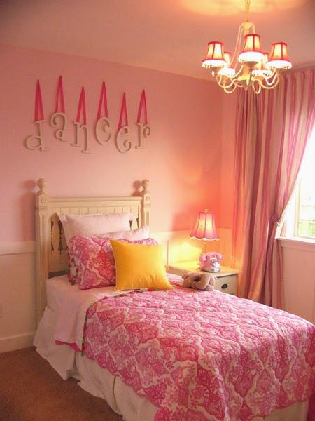 Dormitorios color rosa para niña   colores en casa