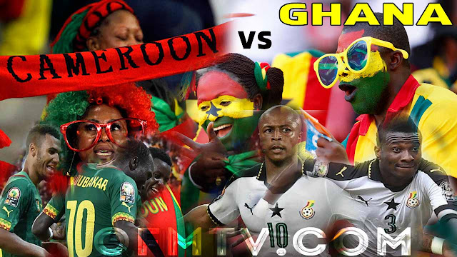 Cameroon vs Ghana Semi-Final Live Streaming TV - AFCON 2017