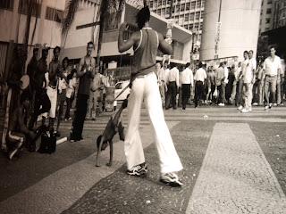 Capoeira, no Itaú Cultural, São Paulo