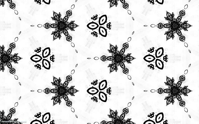 Witte achtergrond met zwart patroon