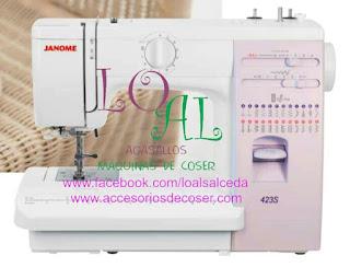 maquina de coser janome 423S