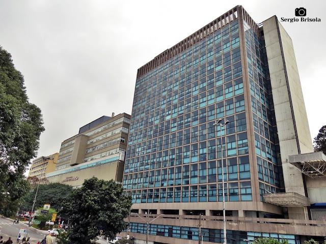 Vista ampla do complexo do Incor - Instituto do Coração - Cerqueira César - São Paulo