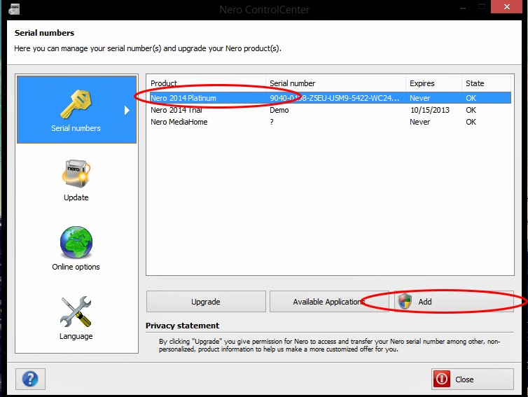 nero 6 free  with serial key for windows 7