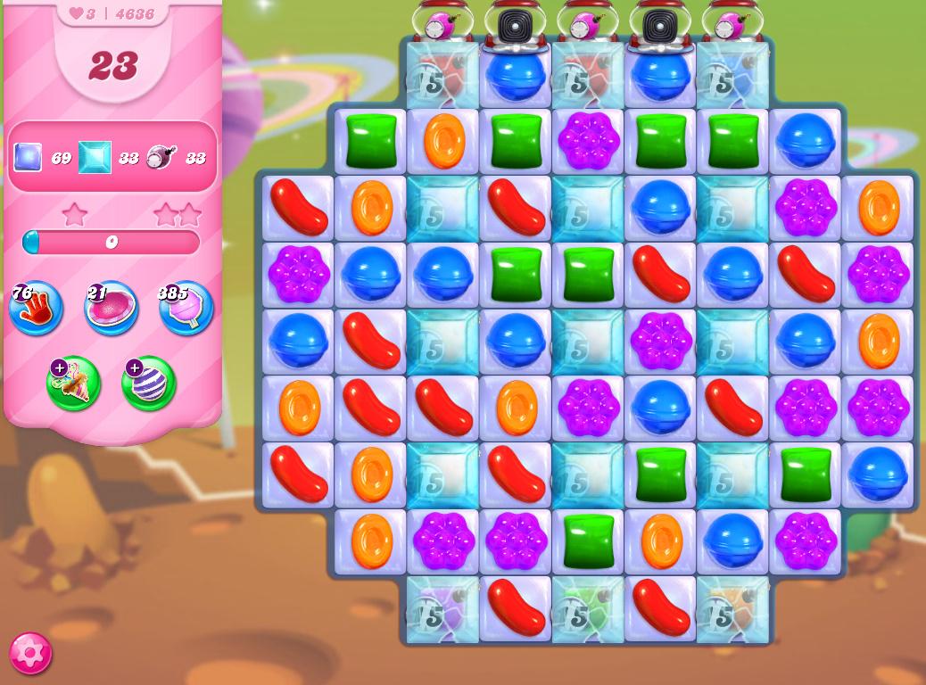 Candy Crush Saga level 4636
