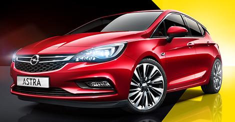 Yeni Opel Astralar Sürücülerini Bekliyor