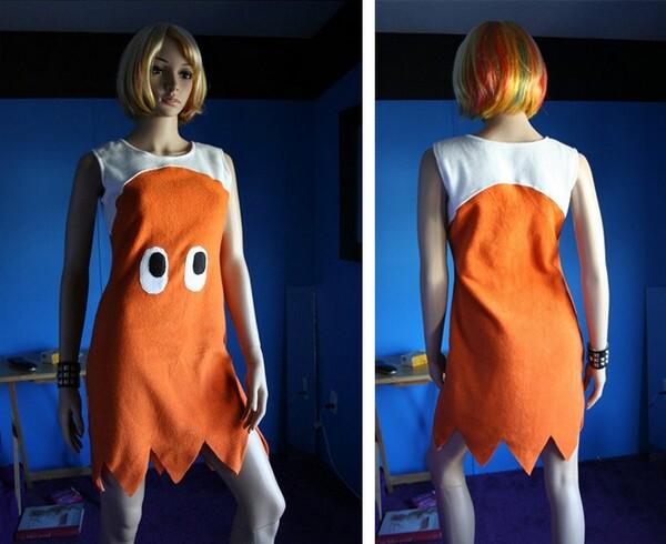 Pacman Ghost Halloween Costume