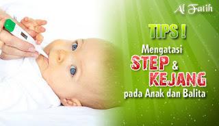 Mengobati serta Mencegah Kejang (Stuip atau Step) pada Anak Balita