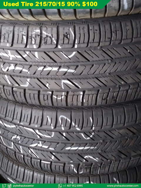 Used Tire 215/70/15 Good Condition 90% - Yireh Auto Center