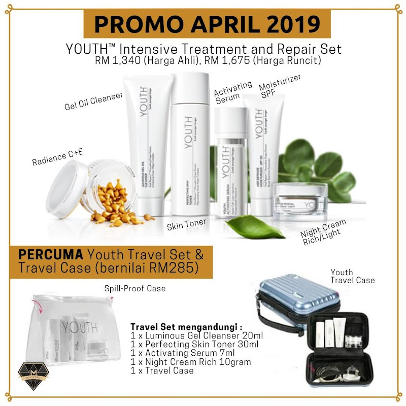 PROMOSI YOUTH FULLSET DAPAT PERCUMA TRAVEL KIT YOUTH SHAKLEE