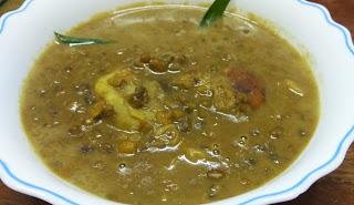 Resepi Bubur Kacang Hijau Durian