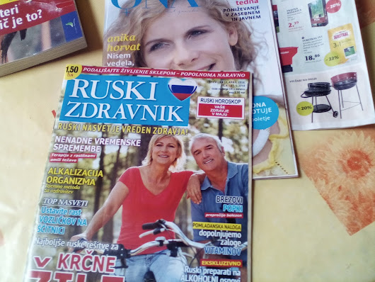"Mother keeps buying(terrorizing) magazine called ""RUSSIAN DOCTOR"""