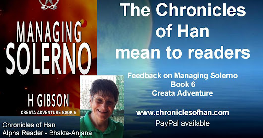 #Feedback - What The Chronicles of Han mean to readers