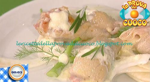 Involtini alla valdostana con insalatina di finocchi ricetta Beretta da Prova del Cuoco