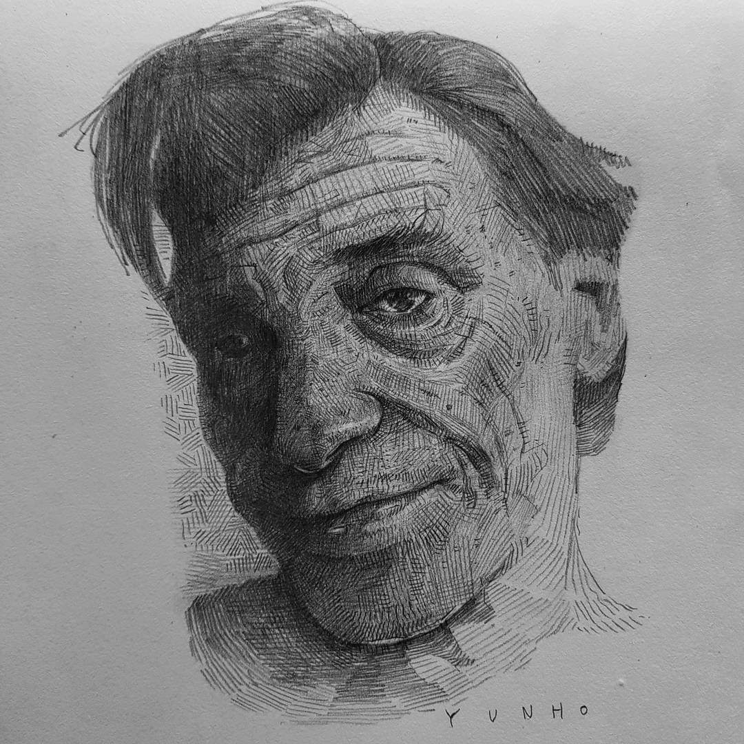 11-Yun-Ho-Kim-Expressions-in-Different-Pencil-Portrait-Styles-www-designstack-co