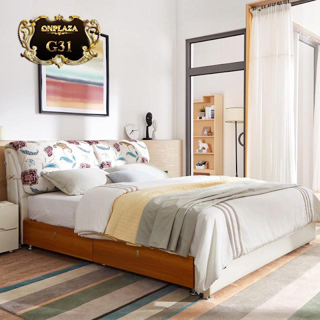 Giường ngủ hiện đại G31