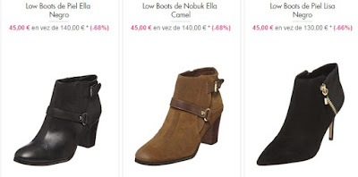 Low Boots y botines