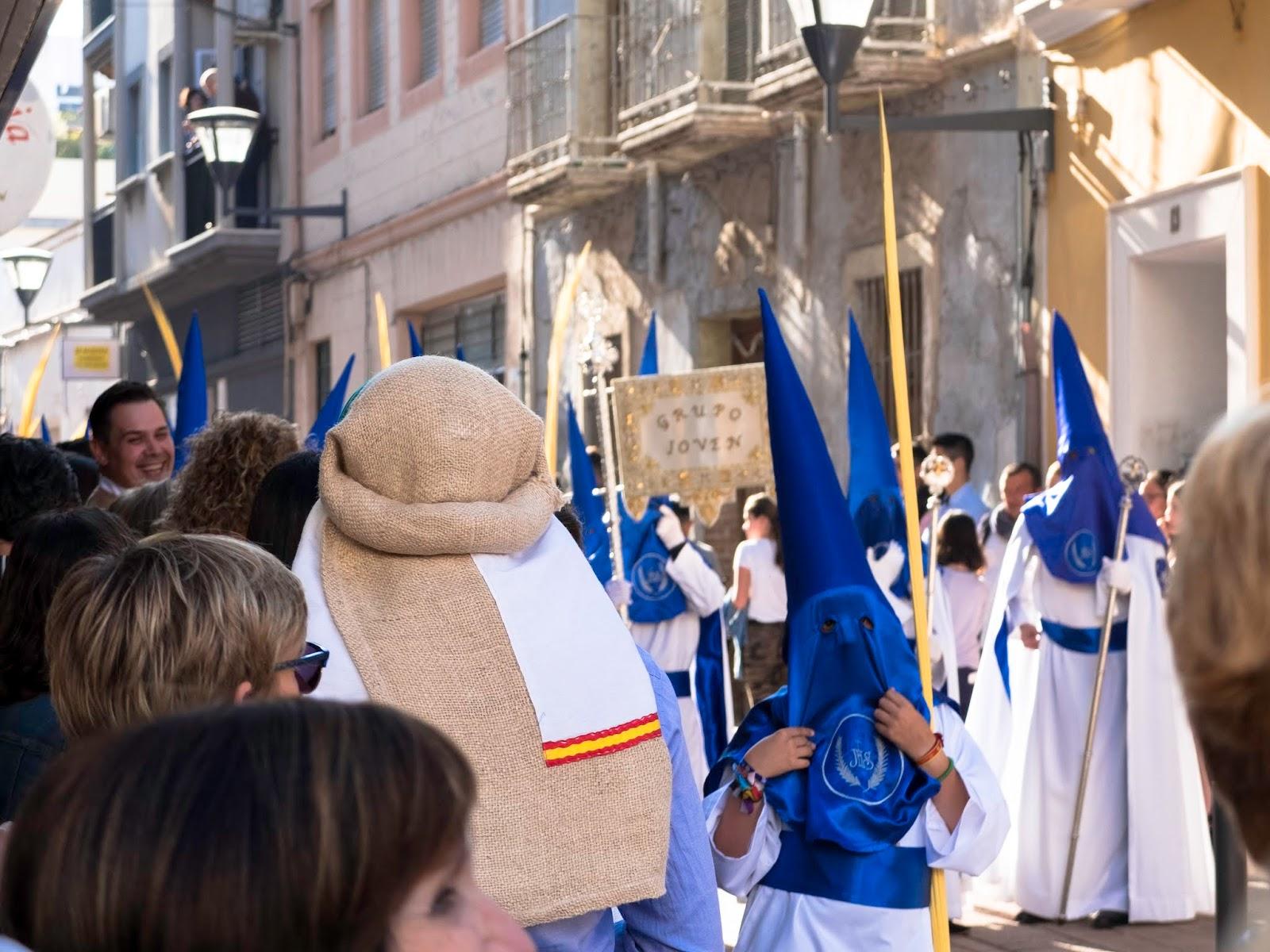 Procesión de Semana Santa en Motril, Granada 2017