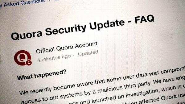 موقع Quora يتعرض لأختراق كبير