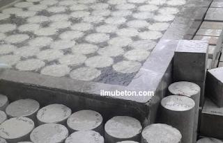 benda uji beton silinder dan kubus