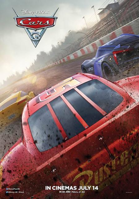 Carros 3 um filme da Pixar Animation Studios