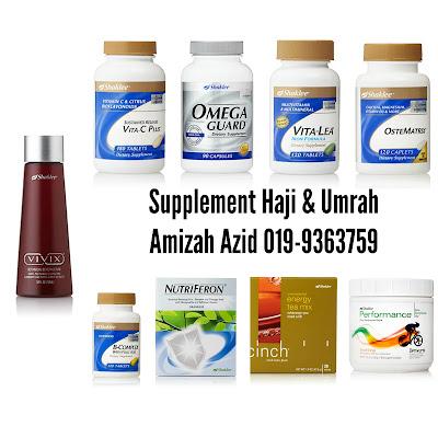 vitamin haji dan umrah untuk kekal sihat dan bertenaga