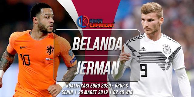 Prediksi Bola Belanda vs Jerman Kualifikasi Euro 2020