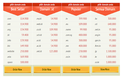 Buy Domain Hosting Murah