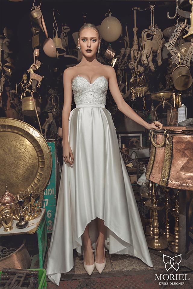 Bonitos vestidos de novias | Colección Muriel 2016