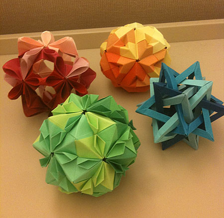 origami for the seasons